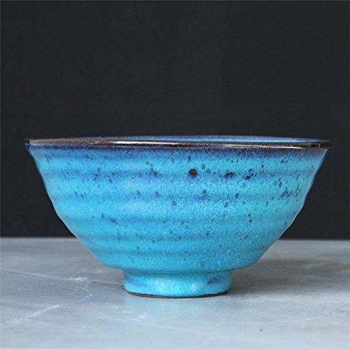 MLMHLMR Ceramic Bowl Of Fruit And Vegetable Salad Tray Noodle Steak Western Dishware Tableware Food Utensils Patina 18x9cm bowl