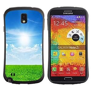 Suave TPU GEL Carcasa Funda Silicona Blando Estuche Caso de protección (para) Samsung Note 3 / CECELL Phone case / / Nature Beautiful Forrest Green 30 /