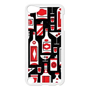 Ipod Touch 5 Phone Case Mad Here Design Z3W4E0238