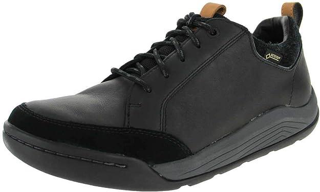 TALLA 45 EU. Clarks Ashcombebaygtx, Zapatos de Cordones Derby para Hombre