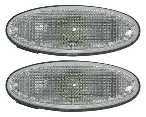 Corner Parking Light Lamp Pair Set for 01-03 Mazda Protege (Mazda Protege Side Marker)