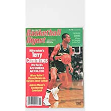 1987 MARCH BASKETBALL DIGEST PATRICK EWING TERRY CUMMINGS ??MALONE VS. JABBAR