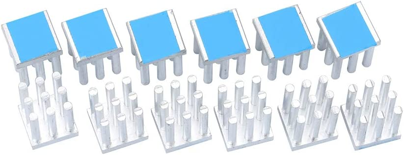 DIYElectronic 1 pc 28288mm Heatsink Radiator Cooler Cooling Fin Aluminum Heat Sink 28X28X8mm