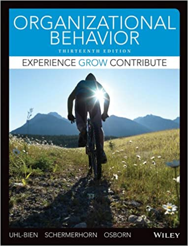 amazon com organizational behavior 13th edition ebook mary uhl