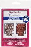 Spellbinders M-Bossabilities A2 Card Embossing Folder, Dotted Flowers
