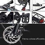 ANCHEER-SAMEBIKE-Bicicletta-Elettrica-Bici-Elettrica-Pieghevole-20-Pollici-con-Batteria-al-Litio-48V-104-Ah-Shimano-7-velocit-350-W-Motore-30-kmh