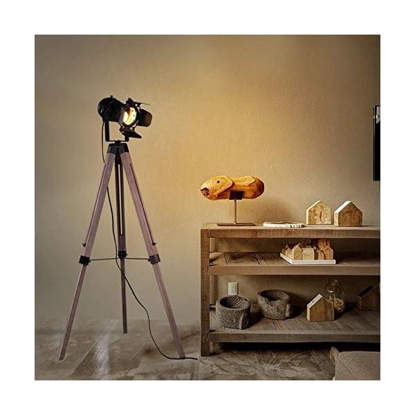 Decoluce Vintage Tripod Floor Lamp 5