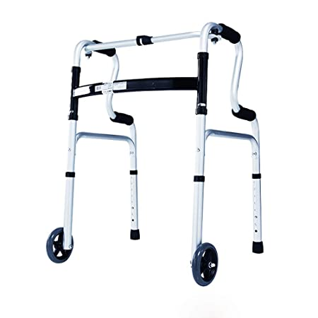 ZYDSD Andador Andador Plegable con Ruedas, Anciano de ...