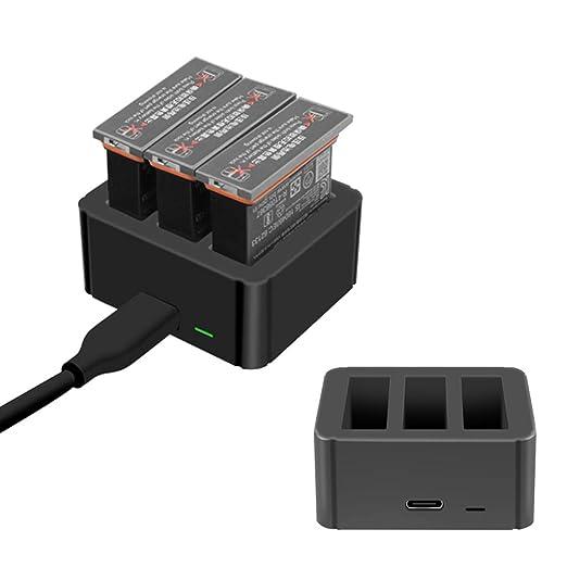 Cansenty 3 en 1 cargador USB inteligente tipo C puerto de ...