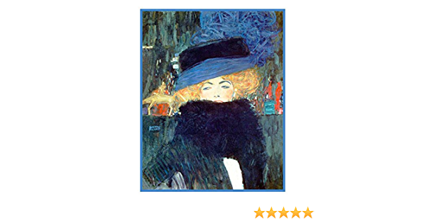 Orenco Originals The Lady Hat and Boa by Gustav Klimt Counted Cross Stitch Pattern