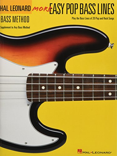 (More Easy Pop Bass Lines: Supplemental Songbook to Book 2 of the Hal Leonard Bass Method)