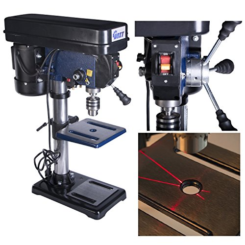 Ainfox 10-Inch 12 Speed Benchtop Drill Press, (Precision Benchtop Router Table)
