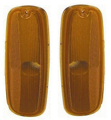 96 - 02 Chevrolet Express (with Sealed beam headlights) Side Marker Pair Set 96-02 GMC Savana Driver and Passenger - Marker Beam