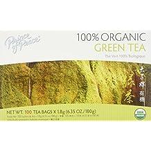 Pack of 1 x Prince of Peace Organic Green Tea - 100 Tea Bags