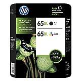 Genuine HP 65XL Black and Color Inkjet C...