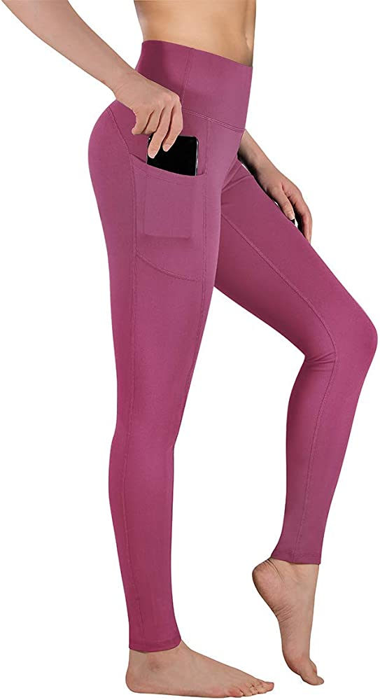 Womens Leggings Workout Clothes for Women duluyaya High Waist Yoga Pants with Pockets for Women