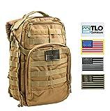 TacPack12 Tactical Rush Backpack - 24L Adjustable Storage Backpack, Rucksack
