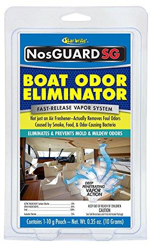 - NosGuard SG Odor Boat Odor Eliminator - Fast-Release Vapor System
