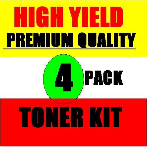 Samsung ML 2010 High Yield Toner Refill Kit 4 Pack, also for ML-2510 Dell 1100 Printers & ML-1610D3 ML-2010D3