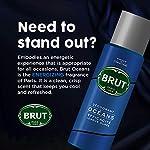 Brut Deodorant Spray for Men, Oceans, Long Lasting Deo with Fresh Aquatic Scent, 200 ml