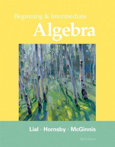 Beginning+Intermediate Alg. W/Access