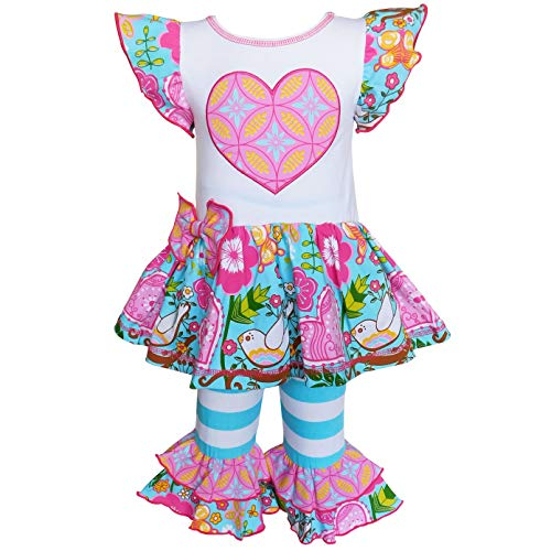 Pink Heart Boutique - AnnLoren Little Girls 2/3T Pink Hearts Boutique Love Dove Spring Clothing