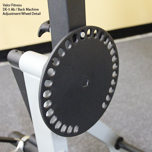 Valor Fitness DE-5 Plate Loaded Ab / Back Machine to Strengthen Lower Back and Core by Valor Fitness (Image #5)