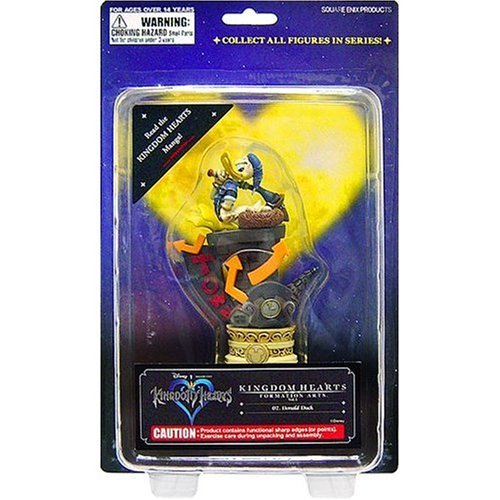 Kotobukiya Disney Kingdom Hearts Formation Arts Series 1 Donald Duck Figure