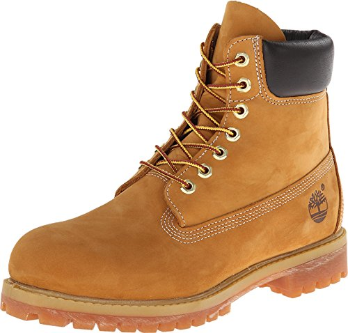 Timerbland Men's 6 inch Premium Waterproof Boot, Wheat Nubuck, 11 W