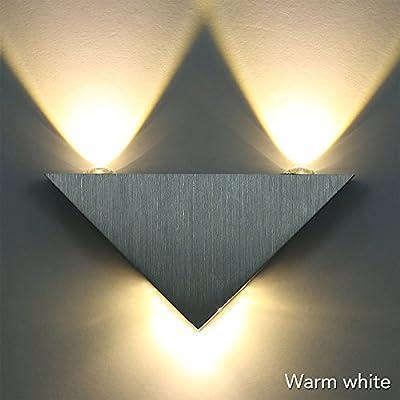 Sunix® Wall light,Warm White LED Triangle Sconce KTV Hall Hallway Lamp ,LED Decorative Lights