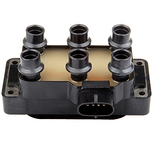 Ford Explorer Ignition Coil - ECCPP Ignition Coil Pack of 1 Compatible with Ford Mustang/Ranger/Aerostar/Explorer Mercury Mountaineer 1990-2011 Replacement for FD480 5C1125 F508