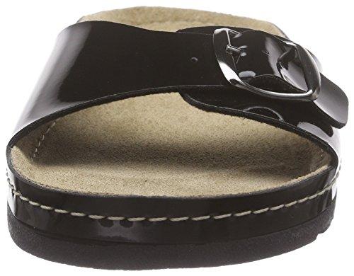 RohdeRiesa - Mules Mujer Negro - Schwarz (91 schwarz/lack)
