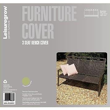 3 banco LeisureGrow plazas 66 cm x 163 cm magmle - muebles de jardín ...