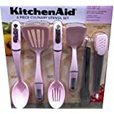 """KitchenAid """"Cook for the Cure"""" 6-piece Culinary Utensil Set (Light Pink - Pack of 6)"""