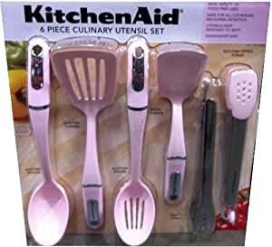 Kitchenaid Quot Cook For The Cure Quot 6 Piece Culinary Utensil