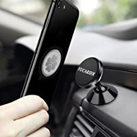 YUCARSER Double 360 Degree Rotation Magnetic Car Phone Mount