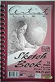 Artist Line Sketch Book 9 inch x 6 inch