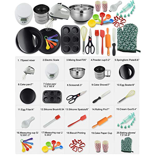 Cake Mixing Tools – Baking 101 - Cake Decorations Products
