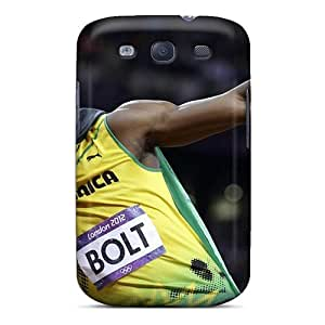 New Arrival Galaxy S3 Case Usain Bolt London Olympics 2012 Case Cover