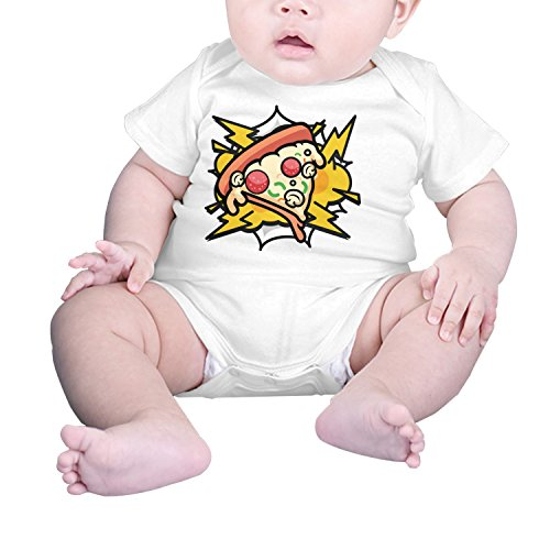 Funsbaby Infants Clothes Climbing Bodysuits Abstract Pizza Fast Food Baby Clothes Boys And Girls