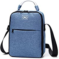 Owill Waterproof Storage Bag Portable Shoulder Bag Durable Handbag for DJI Tello, Keep Your Drone Secure (Blue)