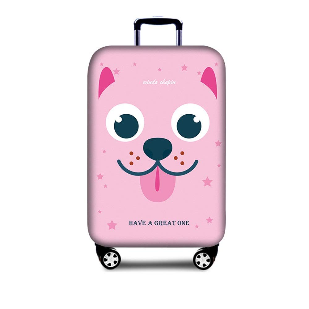 18-21 JIANGXIUQIN-Bag Luggage Cover Anti-Scratch 18 to 32 Inch Travel Luggage Cover Elastic Baggage Covers Easy to Recognize Luggage Protector Color : F, Size : S