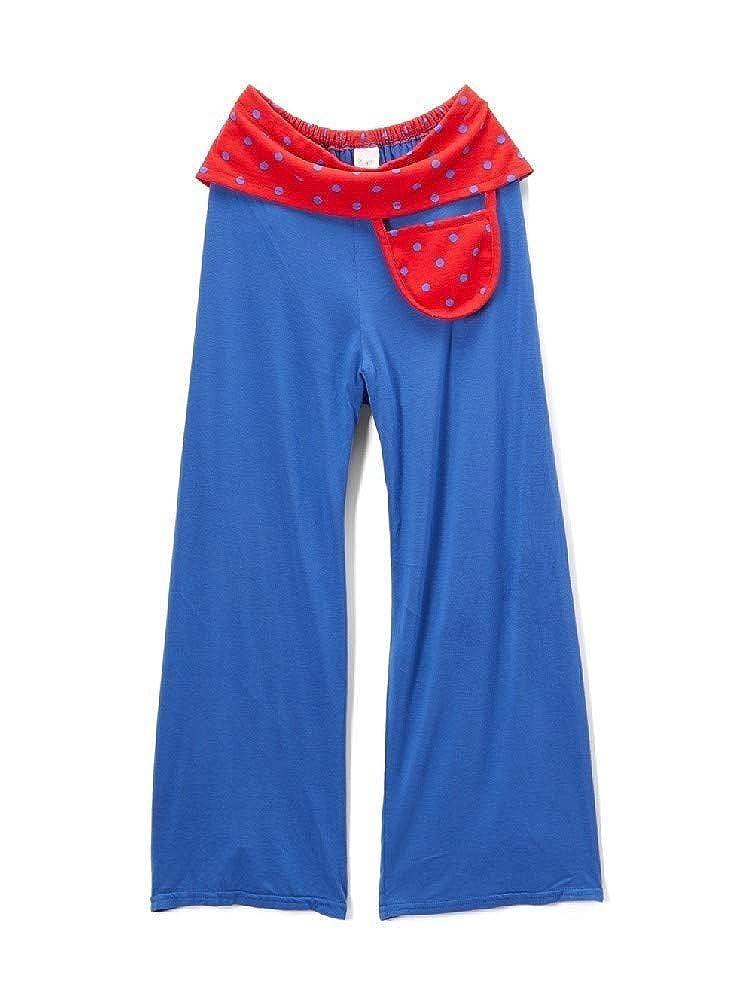 Little Miss Fashion Big Girls Blue Red Wide Leg Pocket Pants 7-12