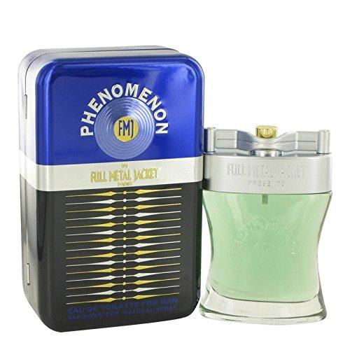 Parfums Full Metal - Phenomenon by Full Metal Jacket Eau De Toilette Spray 3.4 oz for Men