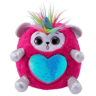 Rainbocorns Monkey Plush Toy, Hot Pink: Toys & Games