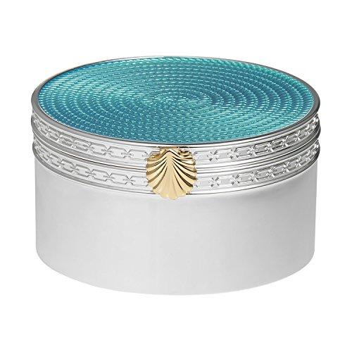 Wedgwood Treasures with Love Aquamarine Seashell Treasure Box (Box Wedgwood)