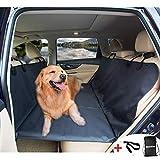 AMOCHIEN Dog Backseat Extender - Backseat Bridge for Dogs Ideal for Trucks, SUVs, and Full Sized Sedans Backseat Extender for Dogs Pet Heavy-Duty Dog Foam Platform Water Resistant
