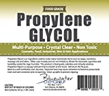 Propylene Glycol - Half Gallon - USP Certified Food Grade - Highest Purity, Humectant, Fog Machine, Humidor & Antifreeze Solution, DIY, Kosher