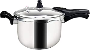 Stainless Steel Pressure Cooker Cookware rice cooker about 2-5 person 5.2 quert 5 liters explosion-proof Thickened Safety home use durable