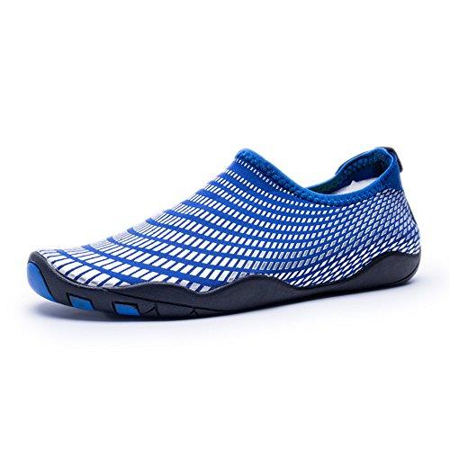 azul blanco y Escarpines mujer para AVADAR Xq4aX